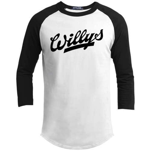 Vintage Willys Youth 3/4 Raglan Sleeve Shirt