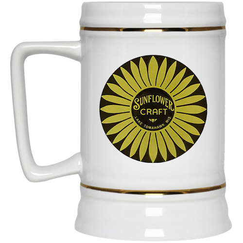 c840fd21 Sunflower Boats by Retro Boater 22217 Beer Stein 22oz.