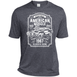 American Muscle TST360 Sport-Tek Tall Heather Dri-Fit Moisture-Wicking T-Shirt