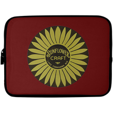 Sunflower Boats by Retro Boater Laptop Sleeve - 10 inch