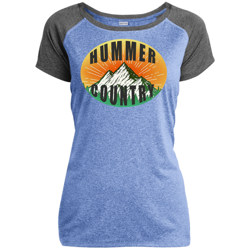 Hummer Country LST362 Sport-Tek Ladies Heather on Heather Performance T-Shirt
