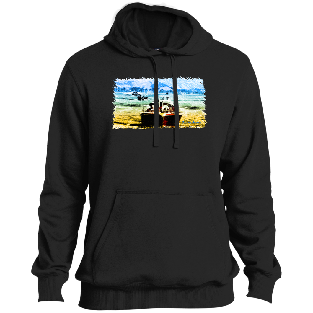Mountain Lakes Cruise by Classic Boater  Sport-Tek Tall Pullover Hoodie