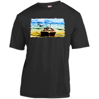 Mountain Lakes Cruise by Classic Boater YST350 Sport-Tek Youth Moisture-Wicking T-Shirt