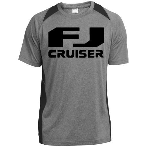 Vintage FJ Cruiser ST361 Heather Colorblock Poly T-Shirt