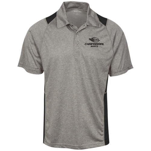 Classic Style Chaparral Boats Heather Moisture Wicking Polo