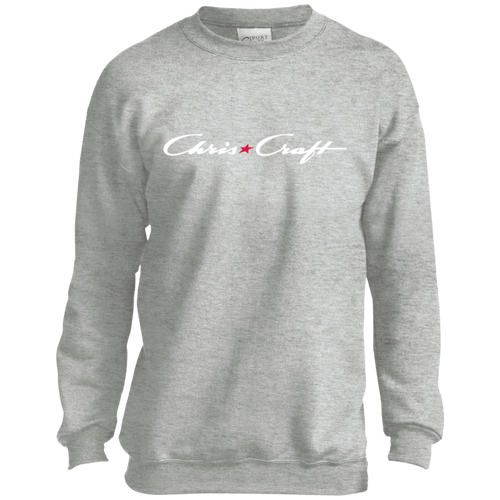 cf PC90Y Port and Co. Youth Crewneck Sweatshirt