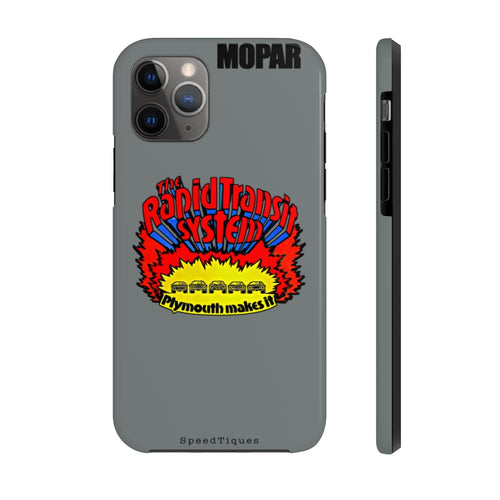 Mopar The Rapid Transit System Case Mate Tough Phone Cases by SpeedTiques