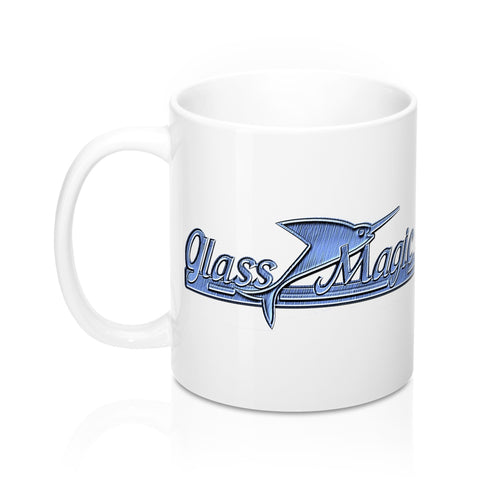Glass Magic Mug 11oz by Retro Boater
