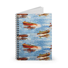 Vintage Chris Craft Spiral Notebook - Ruled Line by Retro Boater