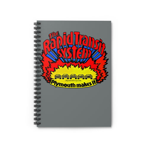 Mopar Rapid Transit Spiral Notebook - Ruled Line by SpeedTiques