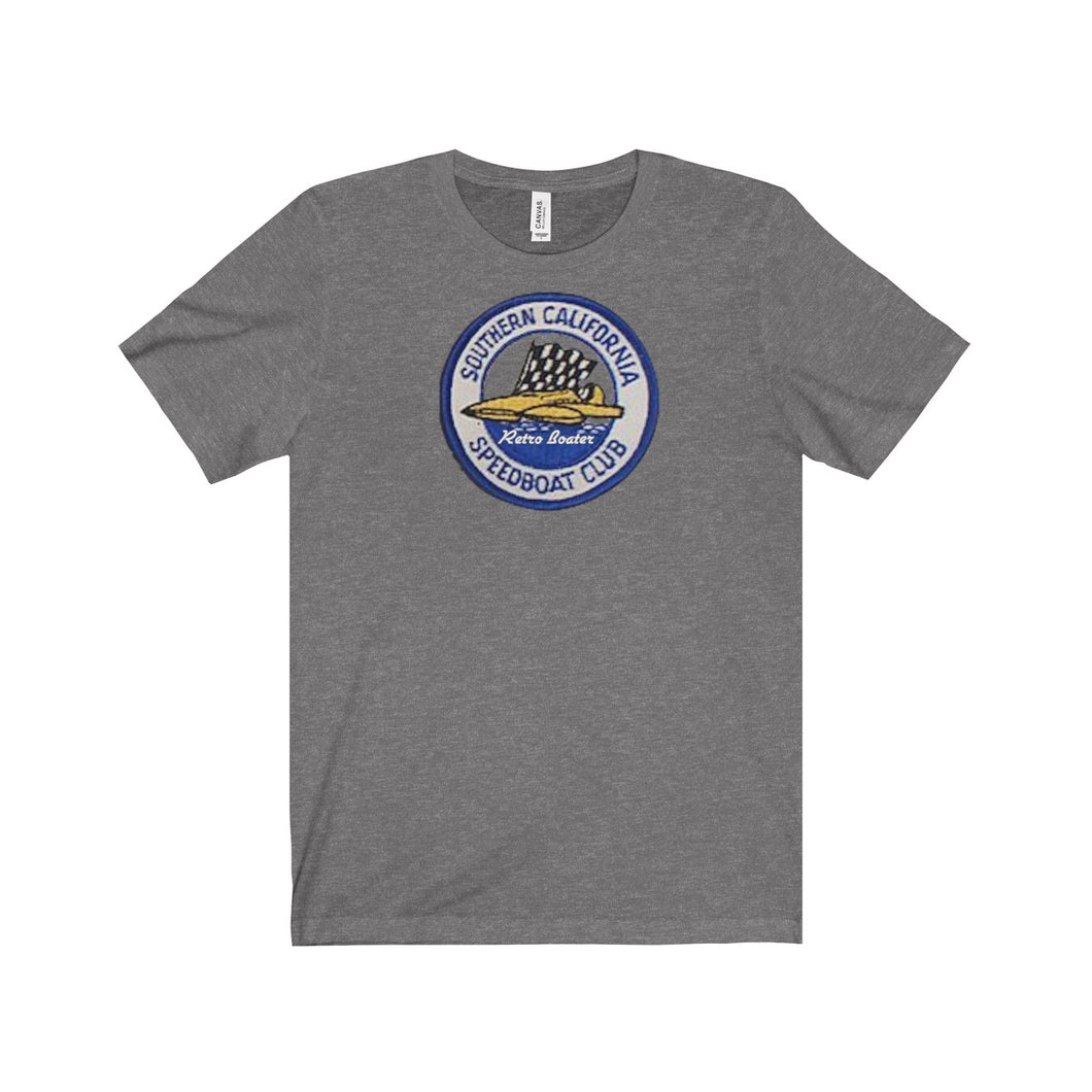 Vintage SoCal Race Boat Club Unisex Jersey Short Sleeve Tee