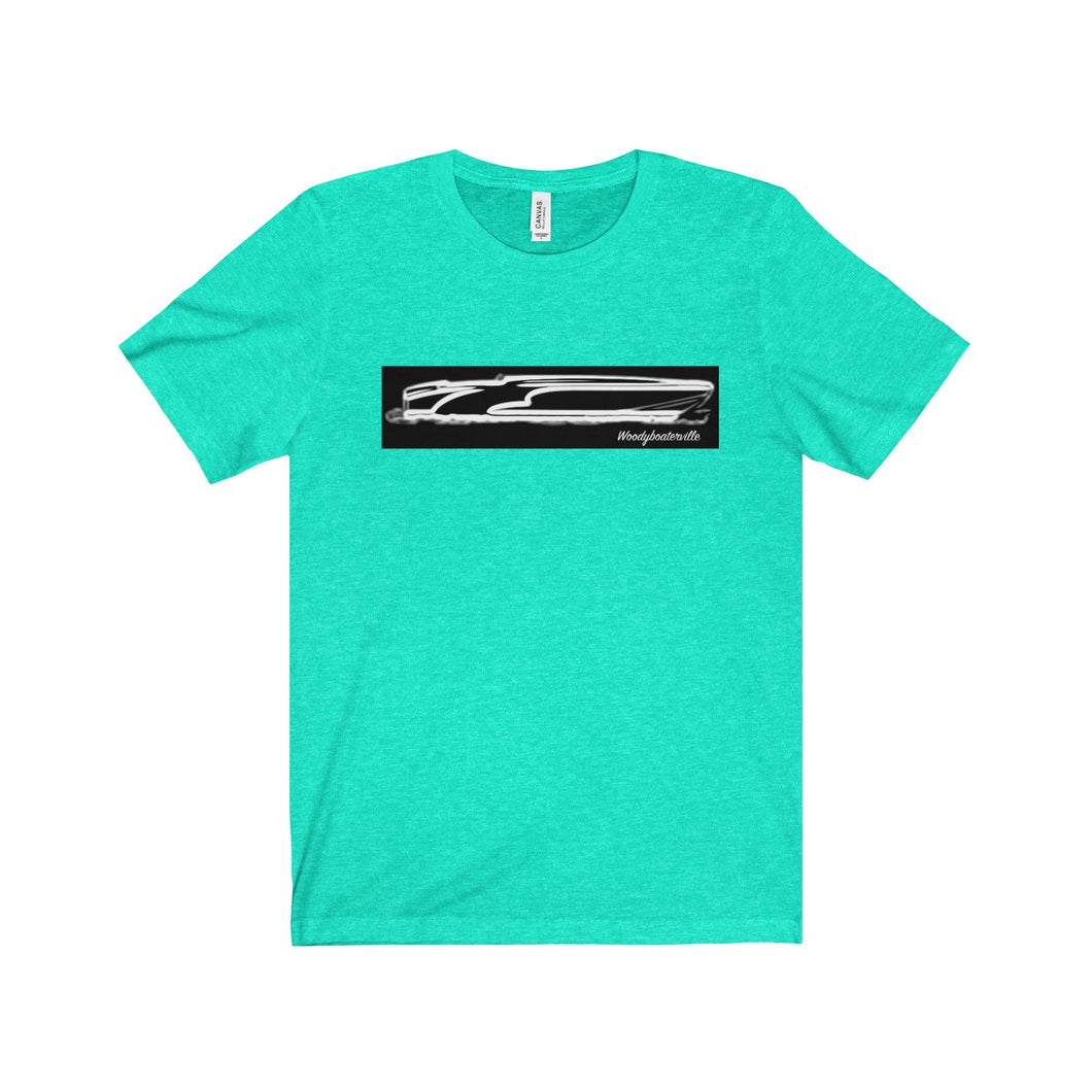 Low Profile Vintage Speedboat Unisex Jersey Short Sleeve Tee