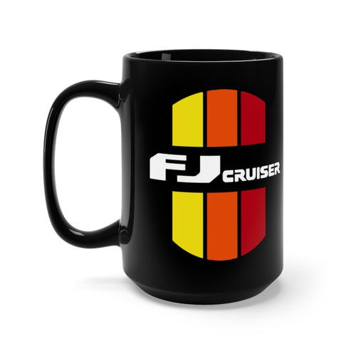 Toyota FJ Cruiser Black Mug 15oz by SpeedTiques