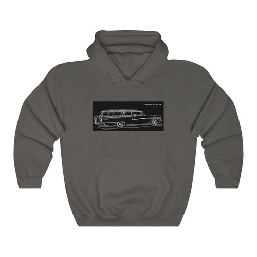 1958 Ford Ranch Wagon Unisex Heavy Blend™ Hooded Sweatshirt by SpeedTiques