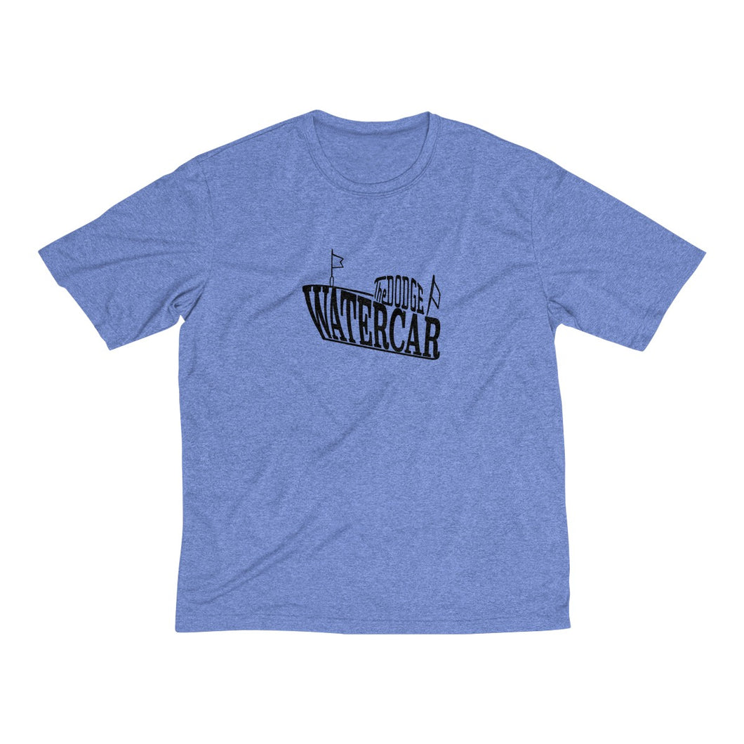Vintage Dodge Watercar Men's Heather Dri-Fit Tee by Retro Boater