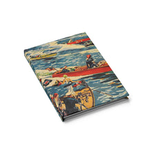 Vintage Boat Race By Retro Boater Journal - Blank