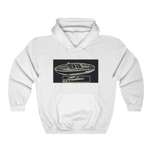 Western Fairliner Unisex Heavy Blend™ Hooded Sweatshirt by Retro Boater