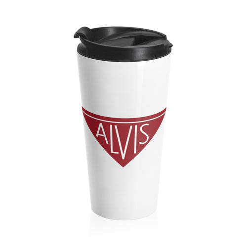Alvis Car Company Stainless Steel Travel Mug by SpeedTiques