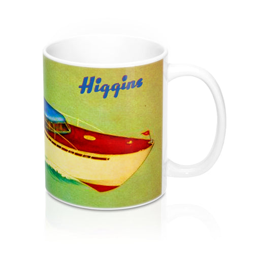 Higgins Yacht Cruiser Mug 11oz by Retro Boater