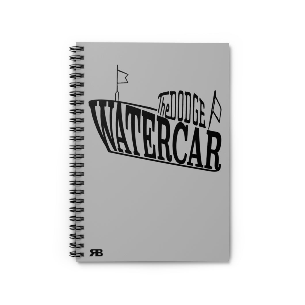 Dodge Watercar Spiral Notebook - Ruled Line by Retro Boater