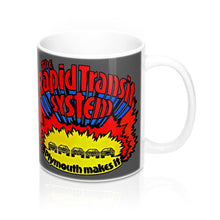 1970s Plymouth Dodge The Rapid Transit System Mug 11oz by SpeedTiques