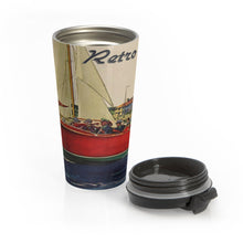 Great Day on the Water by Retro Boater Stainless Steel Travel Mug