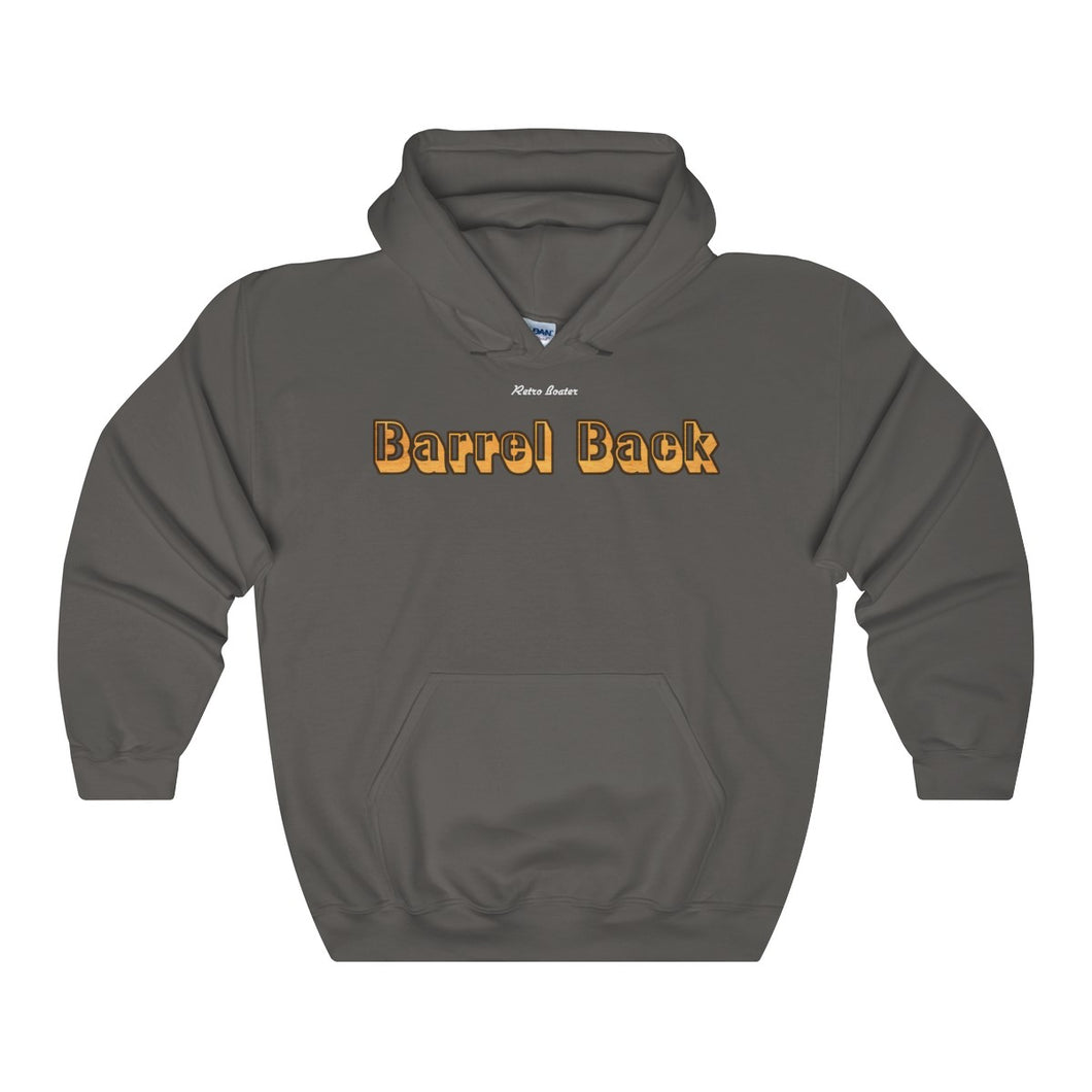 Barrel Back by Retro Boater Unisex Heavy Blend Hooded Sweatshirt