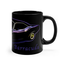 1970 Plymouth Barracuda Black mug 11oz by SpeedTiques