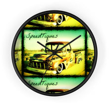 1956 Chevy Pickup Shop Truck Wall clock by SpeedTiques