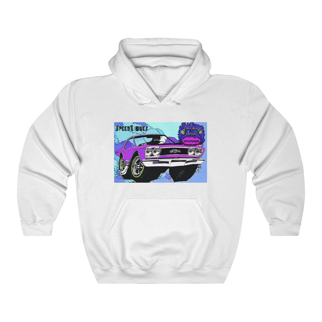 1969 Plymouth GTX Unisex Heavy Blend™ Hooded Sweatshirt by SpeedTiques