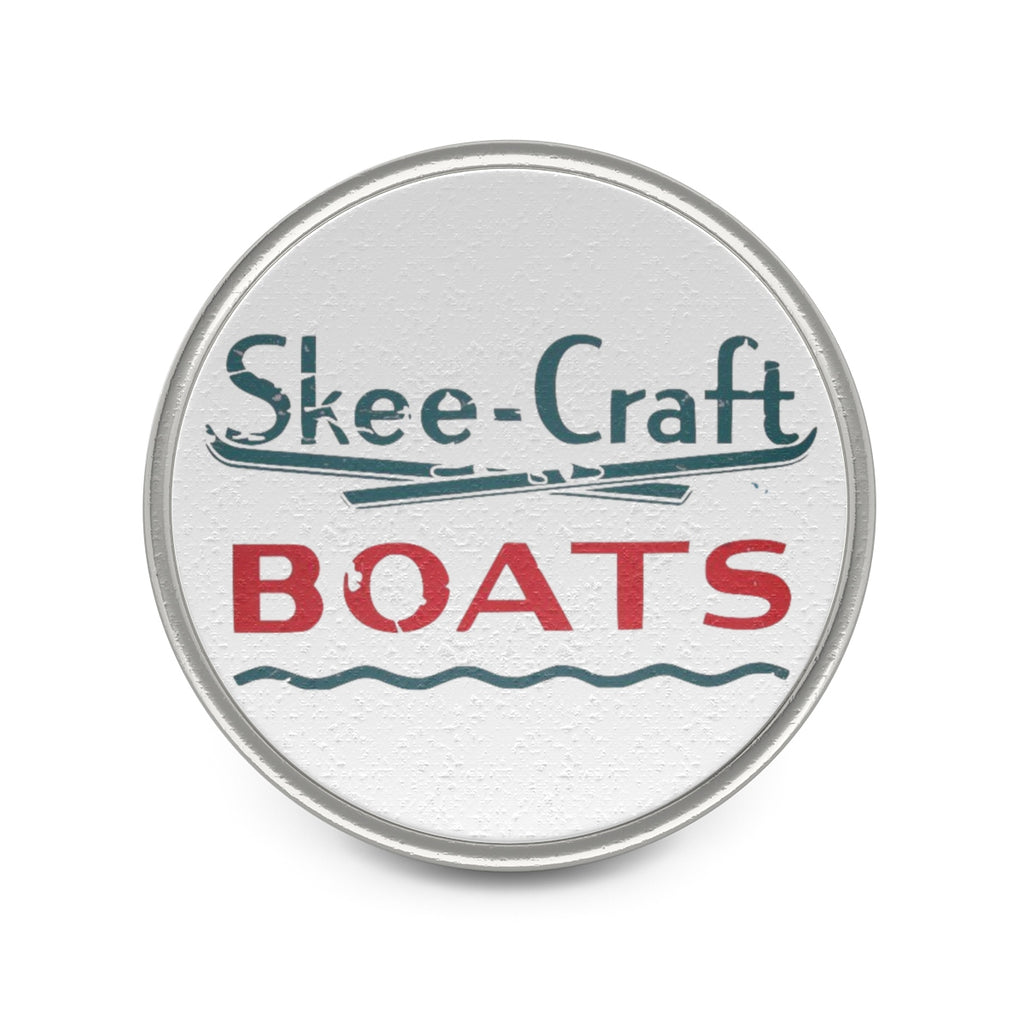 Ski Craft Metal Pin by Classic Boater