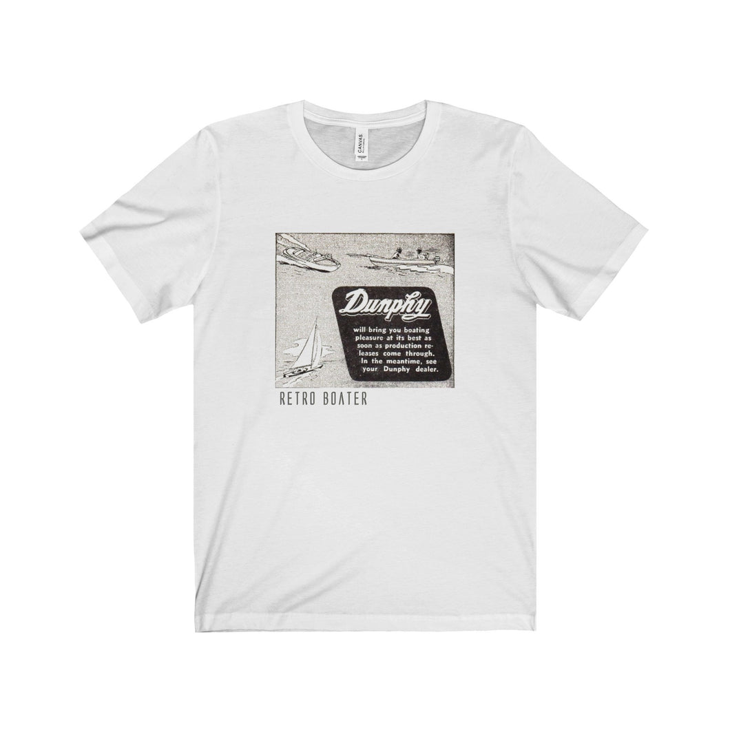 Dunphy Old Ad Unisex Jersey Short Sleeve Tee