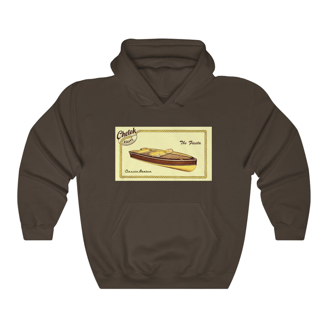 Chetek boats Unisex Heavy Blend™ Hooded Sweatshirt by Classic Boater
