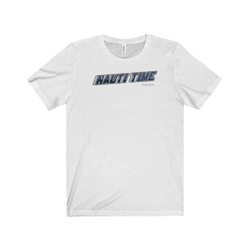 Nauti Time by Retro Boater Unisex Jersey Short Sleeve Tee