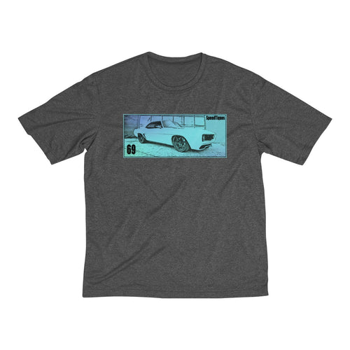 1969 Chevy Camaro Men's Heather Dri-Fit Tee By SpeedTiques