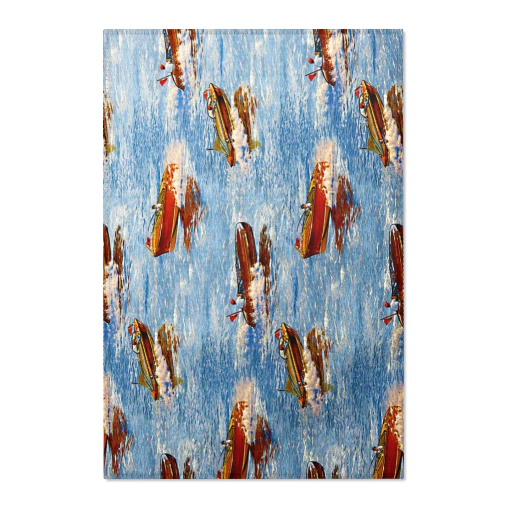 Vintage Chris Craft Area Rugs by Retro Boater