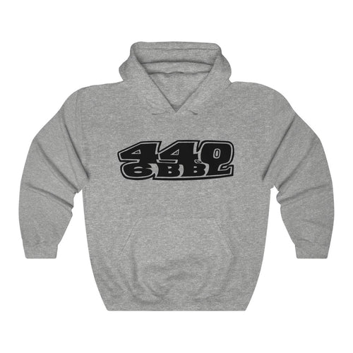 Vintage 1969 Plymouth Roadrunner 440 6 Barrel Mopar Unisex Heavy Blend™ Hooded Sweatshirt by SpeedTiques