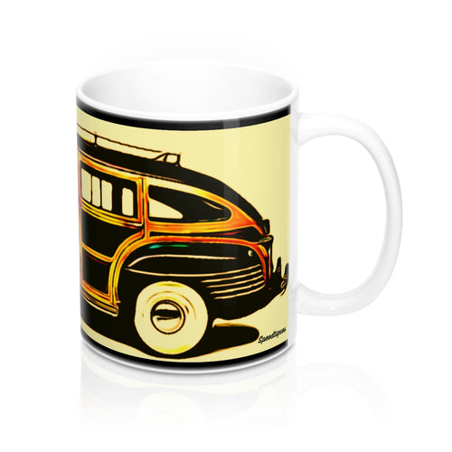 1942 Chrysler Town and Country Barrelback by Speedtiques Mug 11oz