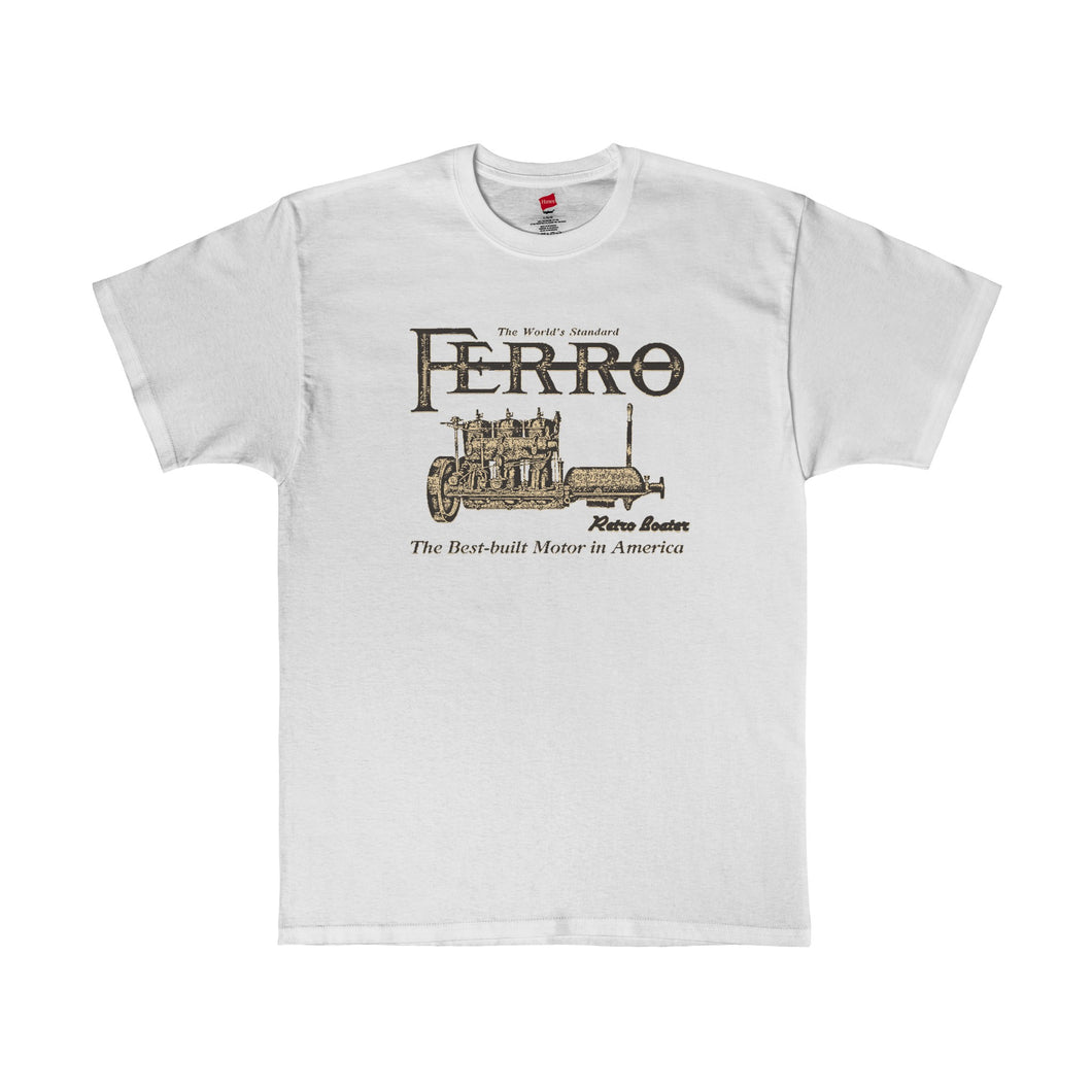Ferro Engine Co. T-Shirt by Retro Boater