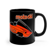 Vintage Moto-Ski Twin Track Race Sled Black mug 11oz
