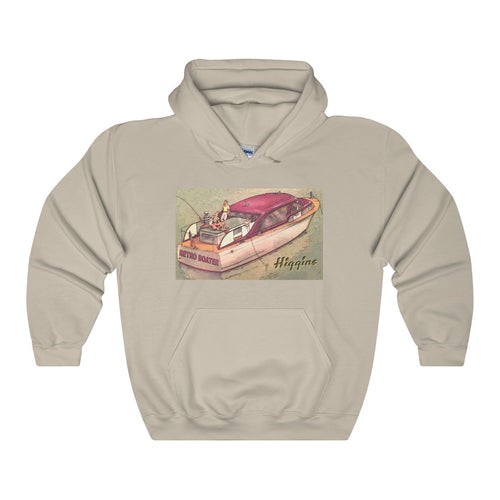 Higgins Cruiser Unisex Heavy Blend™ Hooded Sweatshirt by Retro Boater