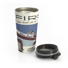 Outboard Fun by Retro Boater Stainless Steel Travel Mug