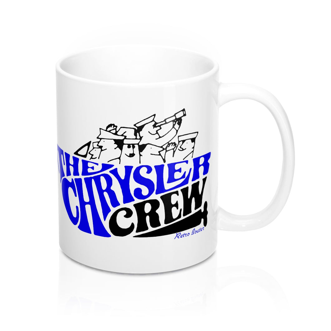 Chrysler Crew Mugs by Retro Boater