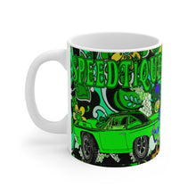 Plymouth Roadrunner White Ceramic Mug by SpeedTiques