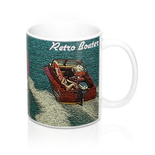 Vintage Boat Party by Retro Boater 11oz Mug