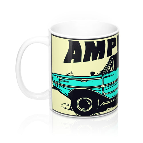 Amphicar Mug 11oz by the Classic Boater