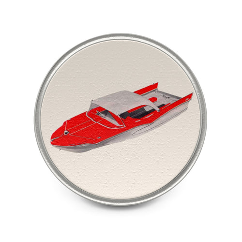 Herter Boats Metal Pin by Classic Boater