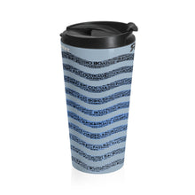 H20 Art by Retro Boater Stainless Steel Travel Mug