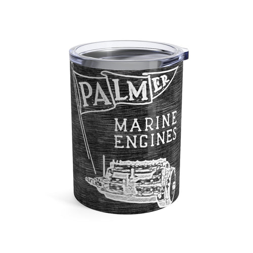 Palmer Marine Engines Tumbler 10oz by Retro Boater