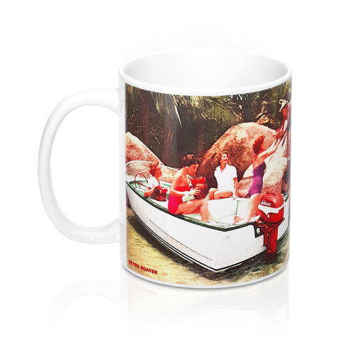 Johnson Sea Horse Mugs by Retro Boater